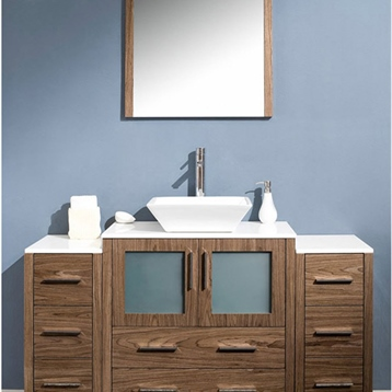 Tolerus Single Hole Vessel Mount  Bathroom Vanity Faucet
