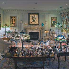 Sitting Room of Tiffany Collector