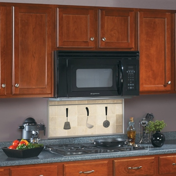 Broan Under Cabinet Microwave with Built-in Ventilation in White