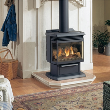 Monessen Hearth Accent Décor Traditional Fireplace with Picture Decor