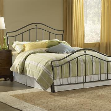 Barclay Imperial Twin Sizekle Black Twin Size Bed Set with Cabinet