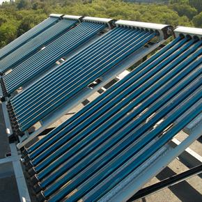 Solar Powered Water Heating