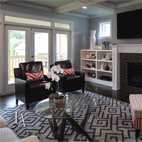 Leah Atkins Living Room
