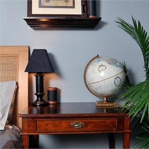 World Traveler Guest Room by Black Cat Interiors