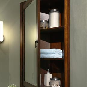 Xylem Wall Mounted Cabinet with Mirror Door