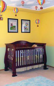 Traditional Nursery by Black Cat Interiors