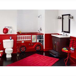 American Standard Fire Engine Childrens Bathroom Suite