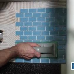 Tamp the tile