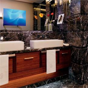 Black Marble Bathroom 2