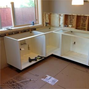 Kitchen electrical remodel