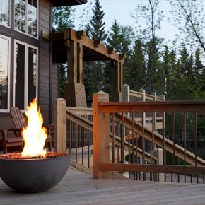 Kingsman Outdoor Fire Pit