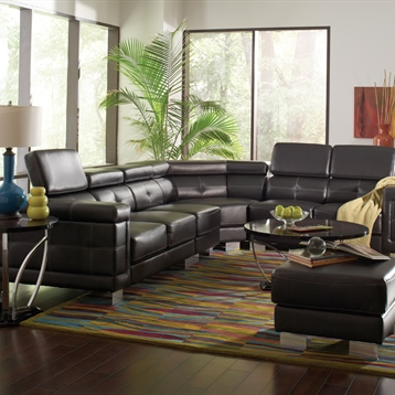 Coaster Company Livingroom Furniture with Ottoman and Round Table